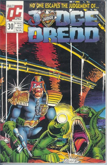 Judge Dredd - Eagle Comics - 21 Copies