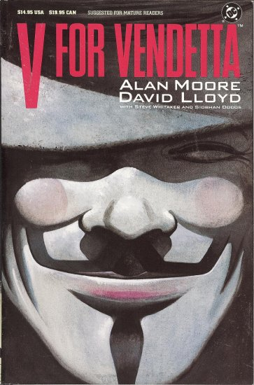 V for Vendetta  - By Alan Moore & David Lloyd - 11 Copies