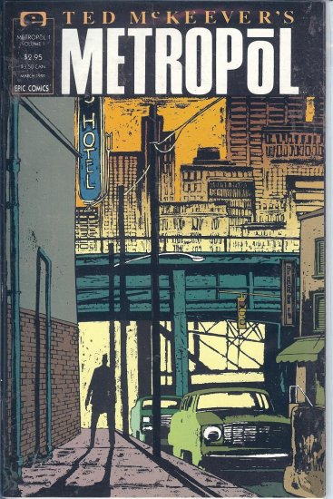 Metropol � By Ted McKeever � 3 Copies & Poster