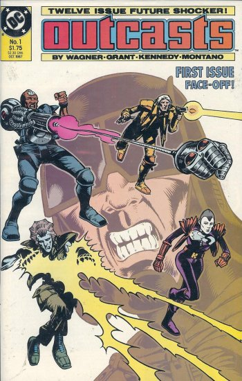 The Outcasts - DC Comics - 1987 - Parts 1 to 6