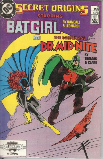 Bat Girl - Dr Mid-Nite & Blue Devil - 1987 - 4 Copies