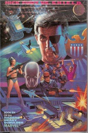 Nick Fury vs. The Shield - Marvel Comics - Parts 1 to 6