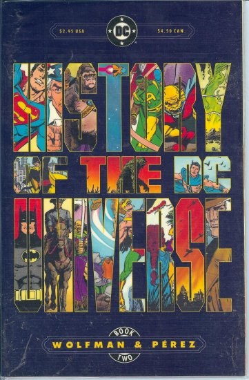 History of the Universe - DC Comics