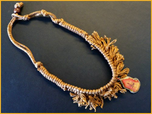 Buddha Rad Rag Choker Necklace