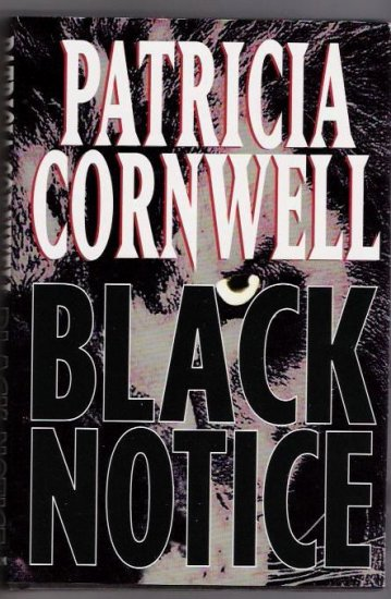Black Notice  Author Patricia Cornwell
