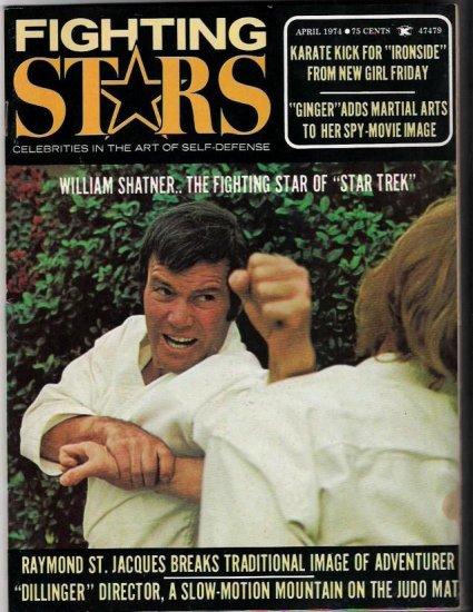 Fighting Stars- Celebrities Self-Defense- William Shatner-Bruce Lee-Martial Arts