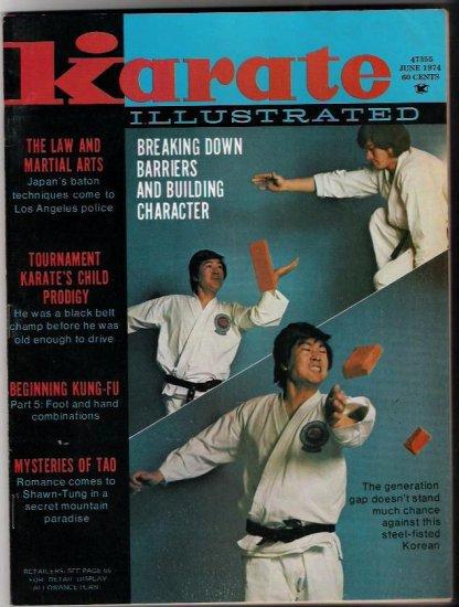 Karate Illustrated June 1974- Kung-Fu Tao- Martial Arts
