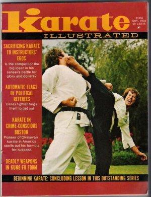 Karate Illustrated Nov 1973- Vintage- Martial Arts