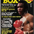 Lou Sahadi's Boxing Scene -July 1982-Cooney-Holmes-Sugar Ray Leonard