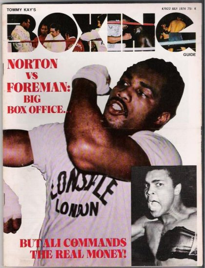 Tommy Kay's Boxing Guide- Norton vs Foreman-Ali- Vintage Magazine