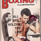 Boxing Illustrated- Ali- Marvin Hart-Napoles, Borkorsaw,Quarry- Vintage Magazine