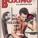 Boxing Illustrated- Ali- Marvin Hart-Napoles, Borkorsaw,Quarry- Vintage Magazine