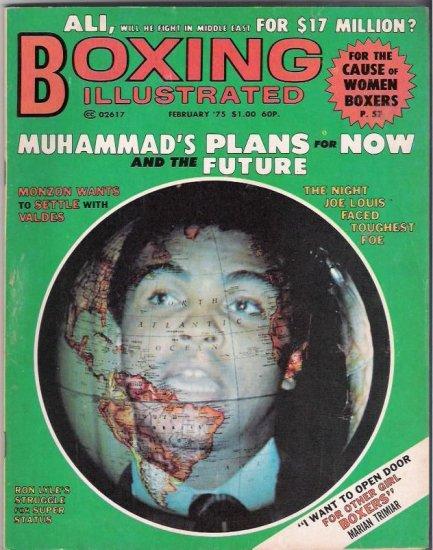 Boxing Illustrated- Muhammad Ali-Joe Louis-Ron Lyle-Vintage Magazine