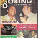 Boxing Illustrated- 1974-Ali vs. Foreman-Mrs. Robert Kennedy-Womenś Boxing-Vintage Magazine