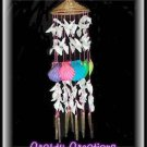 "Bright & Cheery Shell Wind Chimes - 15"" Long - #242"