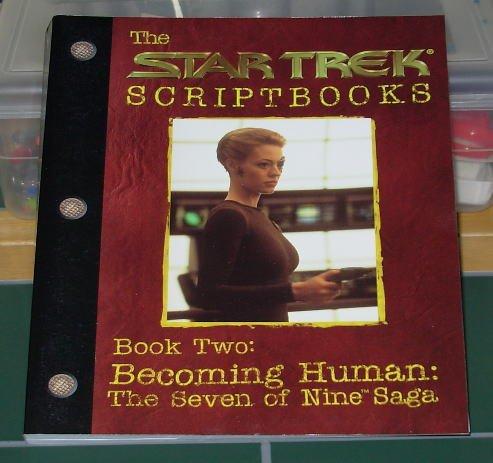 Paperback Book - Star Trek Voyager Scriptbook (1999) Oversized Book