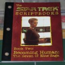 Paperback Book - Star Trek Voyager Scriptbook (1999) Oversized Book