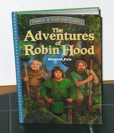 Hardcover Children's Book - The Adventures of Robin Hood