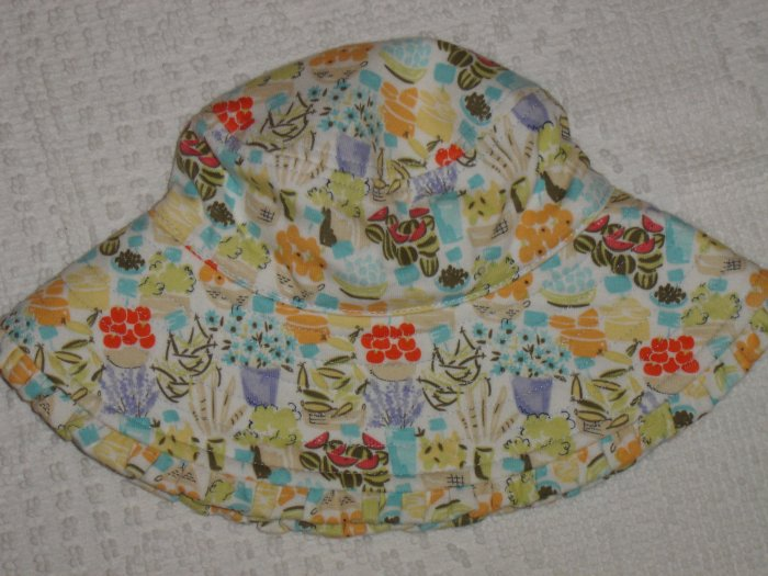 NWT GYMBOREE Bonjour Provence Summer Hat 0-6 mo*NEW!!