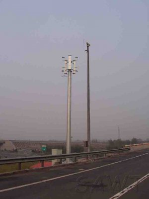 300W vertical wind turbine