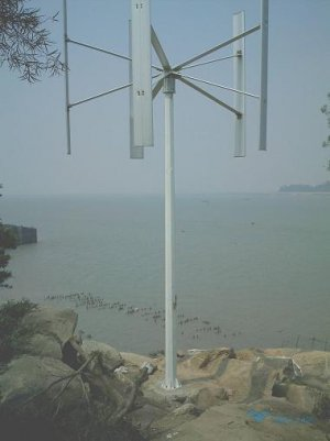 3kw vertical wind turbine