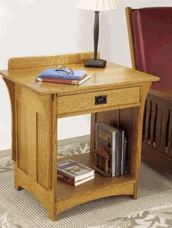 Mission Style Night Stands