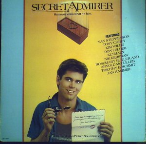 Secret Admirer  Original Soundtrack..............1985