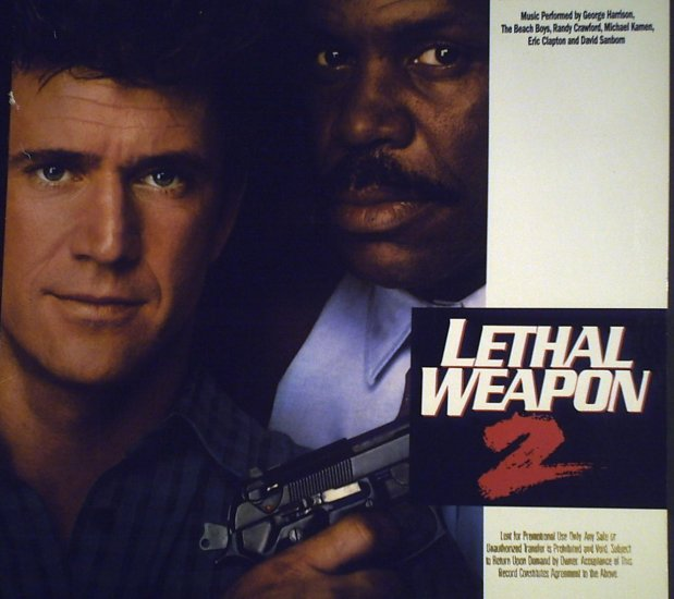 Lethal Weapon  Original Motion Picture Soundtrack1989