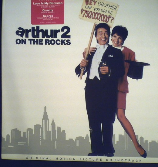 Arthur2  Original Motion Picture Soundtrack..1988