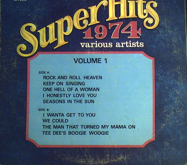 1974  Super Hits - Various Artists......1974
