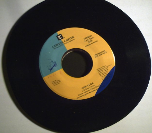 Carter, Carlene   One love/single copy................1990