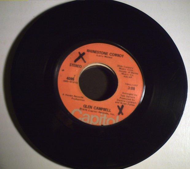 Campbell, Glen   Rhinestone Cowboy/Lovelight.............1975