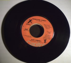Campbell, Glen   Rhinestone Cowboy/Lovelight.............1975