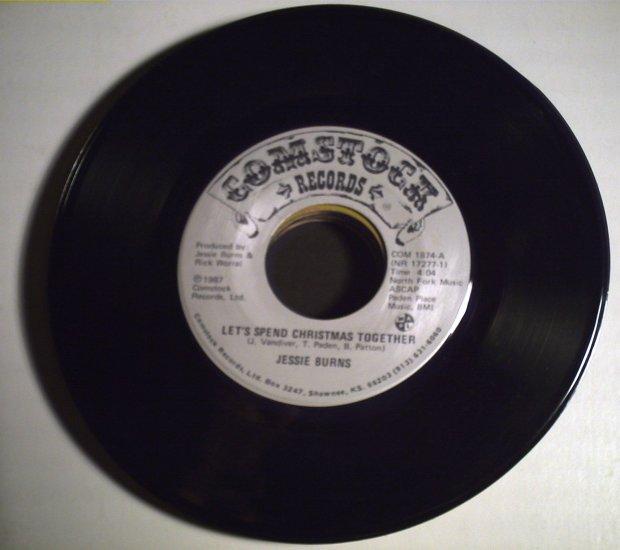 Burns, Jessie   Let's spend ChristmasTogether/single1987