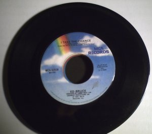Bruce, EdI Take The Chance/Love's Found You And Me.1981