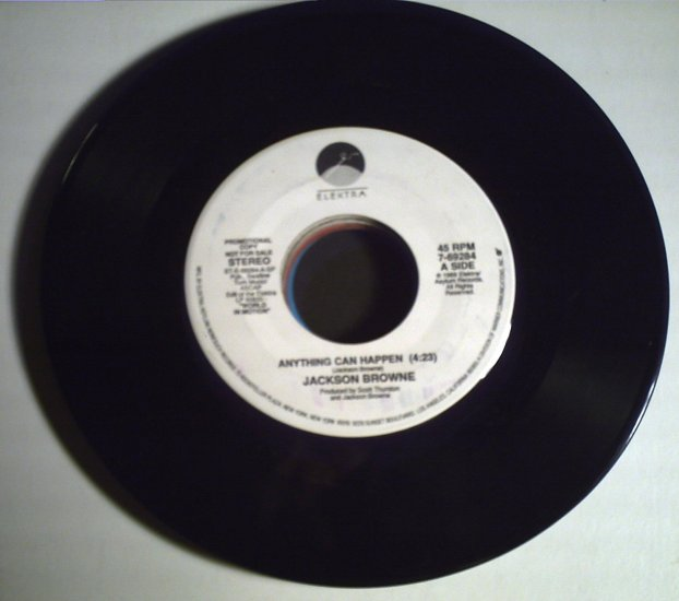 Browne, Jackson  Anything Can Happen/single corp