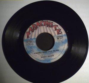Brown, Randy   I Wanna Make Love To You/Sweet, SweetDar.1978