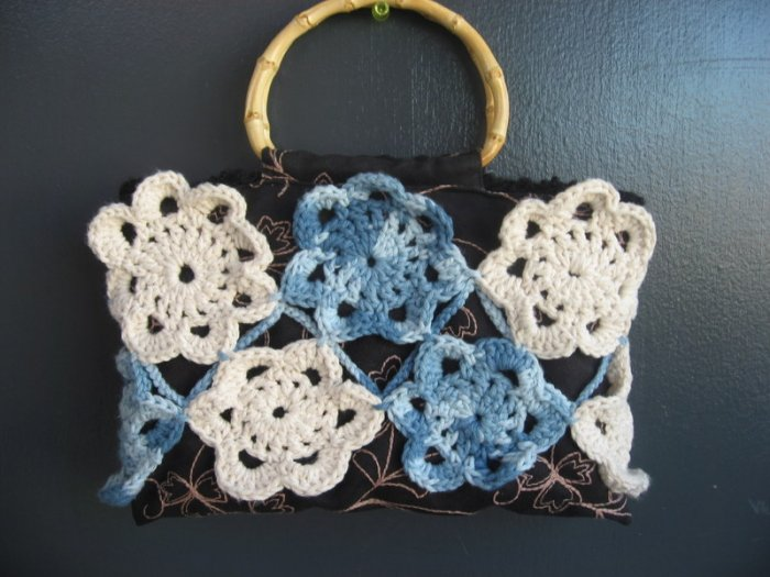 Spring Flowers Handbag Purse
