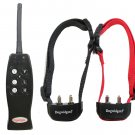 Dogwidgets® Rechargeable Remote 2 Dog Training Shock Collar With Individual Vibration For Each Dog