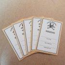 Exclusive Seed Saving Envelopes Poison Seeds Warning - Set of 5