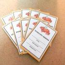 Exclusive Heirloom Tomato Seed Saving Envelopes - Set of 10