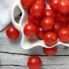 Organic Heirloom Tommy Toe Cherry Tomato Solanum lycopersicum - 25 Seeds