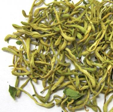 Organic Dried Lonicera Honeysuckle Flower Buds Herbal Tea - 2 oz - 56 Gram