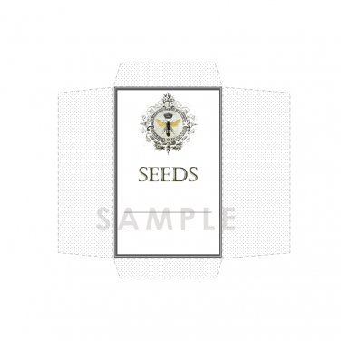 DIY Seed Envelope Printable Template Bee