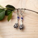 Mini Garden Gnome Earrings with Crystals