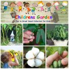 Children Garden - Science, Flowers and Vegetables – Seed Gift in a Tin Box