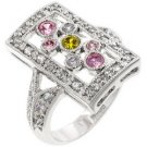 Sterling Silver CZ Fashion Ring