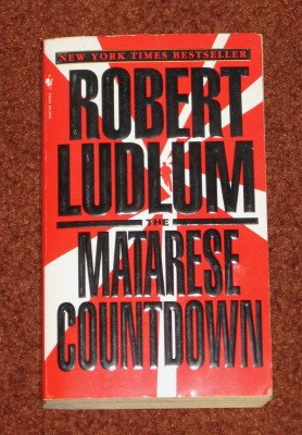 The Matarese Countdown by Robert Ludlum Paperback 1997 Action Adventure Book