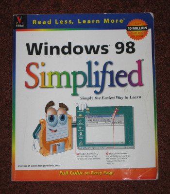Windows 98 Simplified by Ruth Maran MaranGraphics Softcover 1998 Book