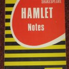 Shakespeare HAMLET NOTES by Coles Editorial 1983 Paperback Book
